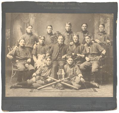 (London, Ontario), 1895. Unbound. Fine. Large photograph. Image measuring approximately 10½
