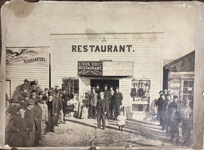 Star Restaurant Mounted Photograph...