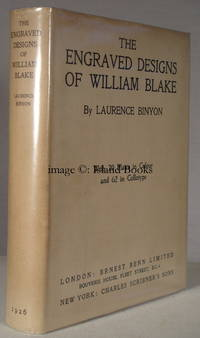 The Engraved Designs of William Blake. IN THE DUSTWRAPPER. 1000 COPIES WERE PRINTED