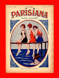 image of Parisiana - Jeudi 7 Juillet 1932. Art Deco/Nouveau. Pin-up, light erotica. Cover art by Clerice Fr.; rear cover art by Rene Giffey