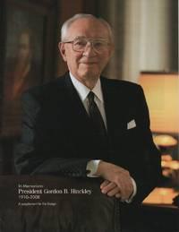 In Memoriam: President Gordon B. Hinckley, 1910-2008