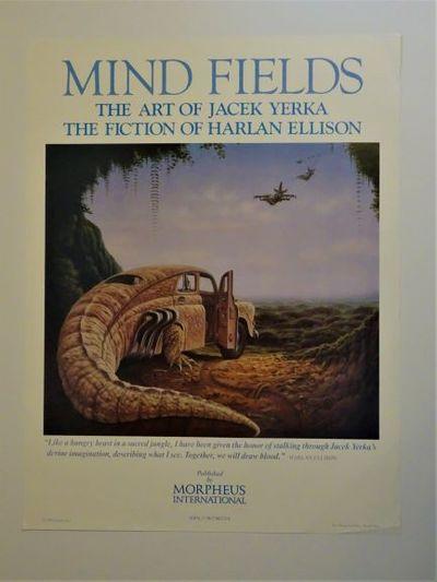 No Place: Morpheus International, 1989. Original publisher's promotional poster, 19