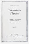 View Image 2 of 2 for Bibliotheca Chemica; A Bibliography of Books on Alchemy, Chemistry and Pharmaceutics. . Inventory #EEG1051