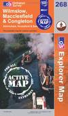image of Wilmslow, Macclesfield and Congleton (OS Explorer Map Active)