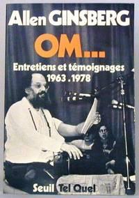 OM...Entretiens et Temoignages 1963-1978