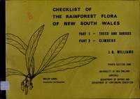 Checklist of the Rainforest Flora of New South Wales - Combined Part 1 and Part 2