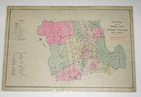LOT OF MAPS FROM ATLAS OF ESSEX COUNTY, NEW JERSEY  (20 of 41 Original  Maps of the County, Cities, Villages & Townships. )