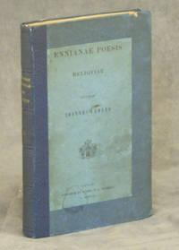 Ennianae Poesis Reliquiae; Recensuit Ioannes Vahlen