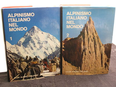 Bologna. : Club Alpino Italiano. , 1972. . Hardcover, red cloth, black titles. . Fine in a near fine...