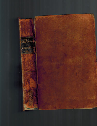 Indianapolis, IN: E. Chamberlain, 1850. RARE. Third Edition, 1850. In the original Full Calf binding...