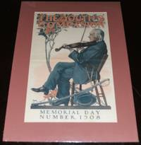 Original 1908 Youth\'s Companion Memorial Day Cover, Matted Ready to Frame