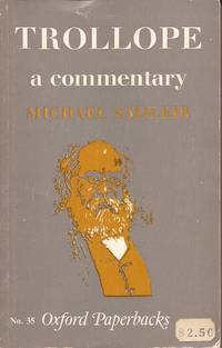 image of Trollope; A Commentary