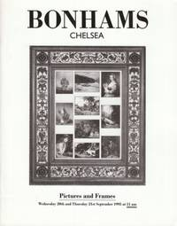 Pictures and Frames 1995 September (art catalog) by Bonhams Chelsea - 1995 - from Hard-to-Find Needlework Books and Biblio.com