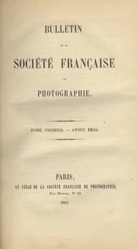 BULLETIN DE LA SOCIÉTÉ FRANÇAISE DE PHOTOGRAPHIE