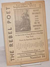 image of The rebel poet; official organ of Rebel Poets, the Internationale of song. September, 1932. No. 16