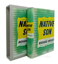 NATIVE SON by Richard Wright - The First Edition Library - FEL; First Printing - from Rare Book Cellar (SKU: 86965)