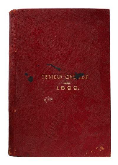 Trinidad civil list: shewing Names...