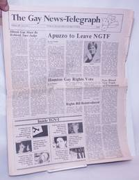 image of The Gay News-Telegraph: serving gay men_lesbians in the heart of America; vol. 4, #5, February 1985: Appuzo to Leave NGTF
