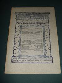 The Theosophic Messenger for October 1910