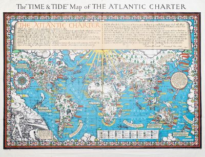 The 'Time & Tide' Map of the Atlantic...
