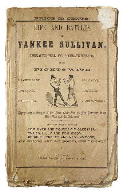 New York: George Backer, 85 Nassau Street, 1856. Copyright Trent 1854. Frontispiece. , -94, pp. 8vo....