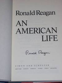 Ronald Reagan: An American Life (Autographed)