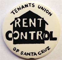 image of Rent Control [pinback button]