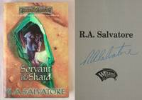 Servant of the Shard: Paths of Darkness, Book 3 by  R. A Salvatore - Signed First Edition - 2000 - from Mind Electric Books and Biblio.com