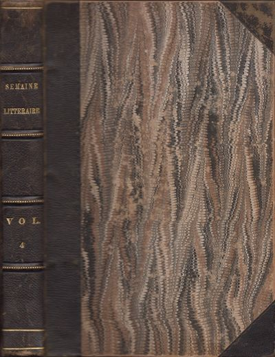 New York: Paul Arpin, 1849. First Edition. Hardcover. Good. Quarto. , 464 pages. Marbled paper cover...