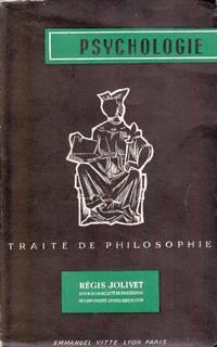 Traité de philosophie.  TOME II:  Psychologie.