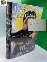 image of Death and Restoration (Jonathan Argyll 6) (SIGNED)