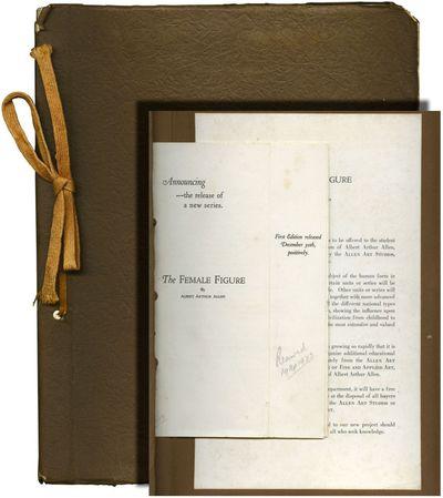 New York: Arthur Allen Studios, 1925. Photo album portfolio sold to subscribers by Allen from his Ar...