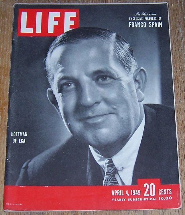 LIFE MAGAZINE APRIL 4, 1949, Life Magazine