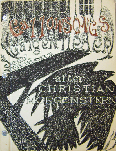 Los Angeles: Black Sparrow Press, 1970. First edition. Hardcover. Very Good. 4to. Decorated hardboun...