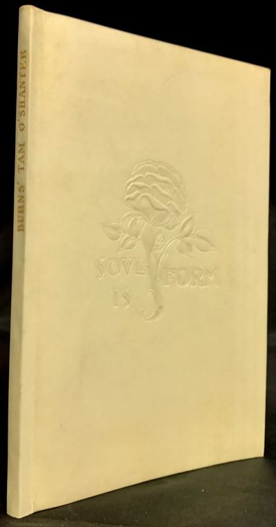 London: Essex House Press (Edward Arnold), 1902. leather_bound. Full limp vellum, front cover decora...
