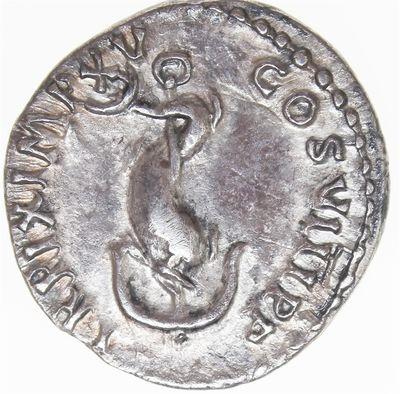 Roman coin. Denarius. - [THE ALDUS-COIN]