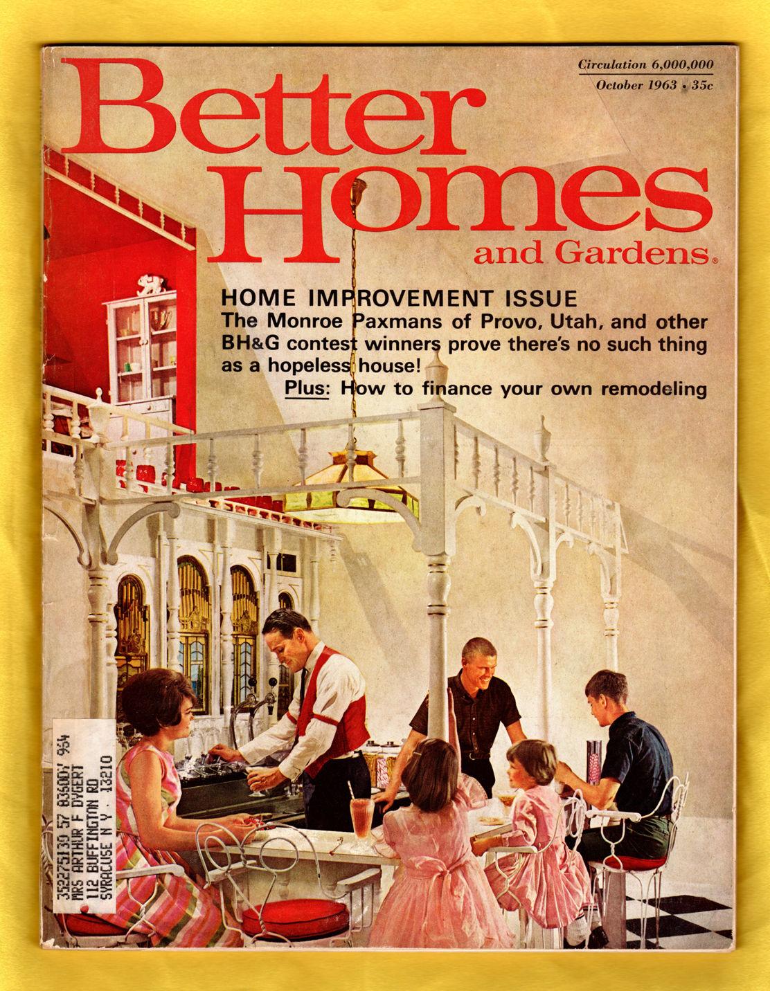 Better Homes And Gardens October 1963 Bill Hedrich