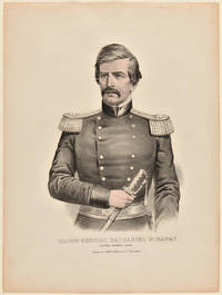 [ LITHOGRAPHIC PORTRAIT OF MAJOR GENERAL NATHANIEL P. BANKS]