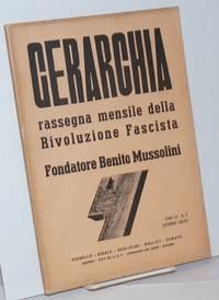 Gerarchia: rassegna mensile della rivoluzione fascista. Anno XV, No. 9 (Settembre 1935)