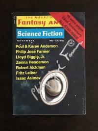 THE MAGAZINE OF FANTASY AND SCIENCE FICTION. November 1971. Vol. 41, No.5