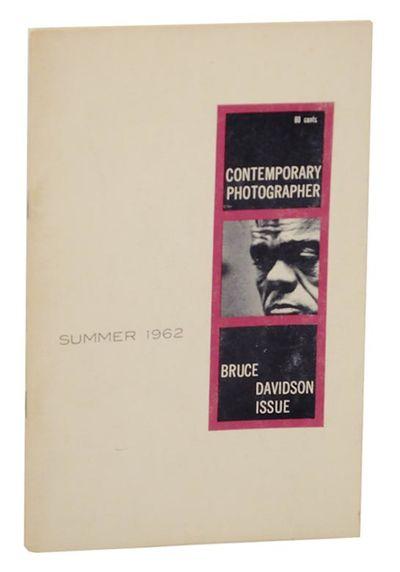 Culpeper, VA: Contemporary Photographer/ Community Press, 1962. First edition. Softcover. Slim issue...