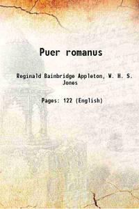 Puer romanus 1913 [Hardcover]