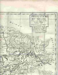 "Province VI Hu-Quang Drawn on the Spot by the Peres Fridelli and Regis in the Year 1716... From ""A Description of the Empire of China and Chinese-Tartary,..."" by  Jean Baptiste [China] Du Halde - 1738 - from Antipodean Books, Maps & Prints and Biblio.co.uk"
