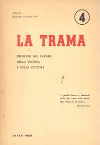LA TRAMA rivista. Maggio/Luglio 1959