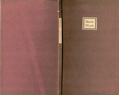 Newark: Carteret Book Club, 1940. First edition. Boards. Orig. brown boards, paper spine and cover l...