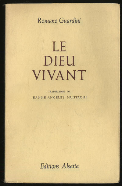 Colmar-Paris: Editions Alsatia, 1955. Softcover. Fine. First edition. Fine in wrappers. Text is in F...