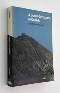 A Social Geography of Canada