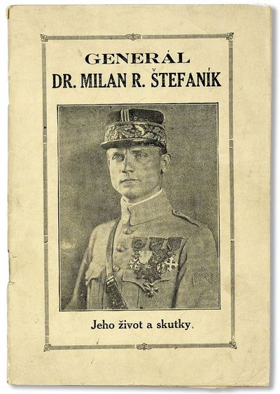 New York: Slovenského Pokroku, . First Edition. Octavo (20.75cm.); publisher's photo-illustrated st...