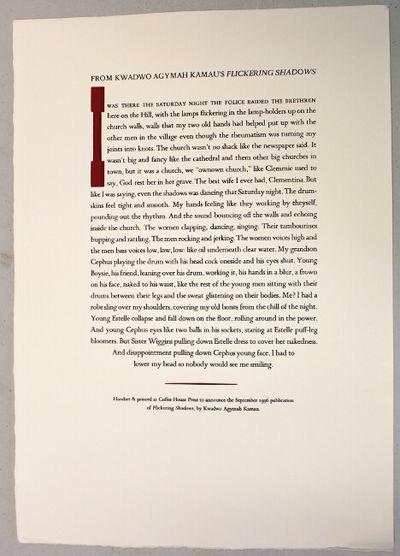 : Coffee House Press, 1996. 11