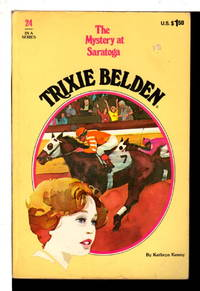 TRIXIE BELDEN: THE MYSTERY AT SARATOGA. #24.